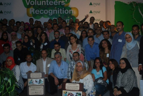 INJAZ Volunteers' Recognition Event For 2012-2013