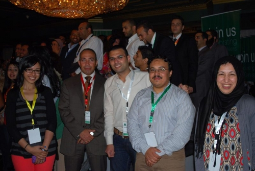 INJAZ Volunteers' Recognition Event For 2011-2012